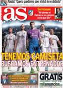 Portada diario AS del 31 de Mayo de 2013