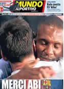 Portada Mundo Deportivo del 31 de Mayo de 2013