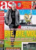 Portada diario AS del 1 de Junio de 2013