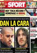 Portada diario Sport del 1 de Junio de 2013