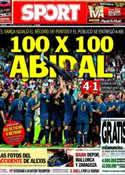 Portada diario Sport del 2 de Junio de 2013