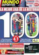 Portada Mundo Deportivo del 2 de Junio de 2013