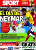 Portada diario Sport del 3 de Junio de 2013