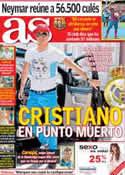 Portada diario AS del 4 de Junio de 2013