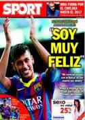 Portada diario Sport del 4 de Junio de 2013