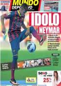 Portada Mundo Deportivo del 4 de Junio de 2013