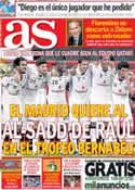 Portada diario AS del 5 de Junio de 2013