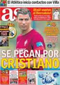 Portada diario AS del 6 de Junio de 2013