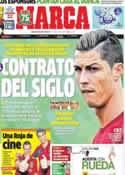 Portada diario Marca del 6 de Junio de 2013
