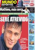 Portada Mundo Deportivo del 6 de Junio de 2013