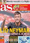 Portada diario AS del 7 de Junio de 2013