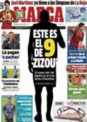 Portada diario Marca del 7 de Junio de 2013