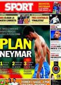 Portada diario Sport del 7 de Junio de 2013