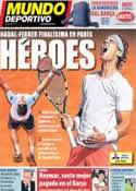 Portada Mundo Deportivo del 8 de Junio de 2013