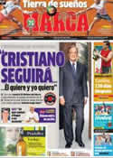 Portada diario Marca del 9 de Junio de 2013