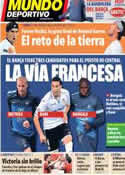 Portada Mundo Deportivo del 9 de Junio de 2013