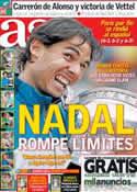 Portada diario AS del 10 de Junio de 2013