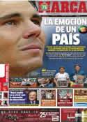 Portada diario Marca del 10 de Junio de 2013