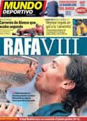 Portada Mundo Deportivo del 10 de Junio de 2013