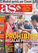 Portada diario AS del 11 de Junio de 2013