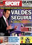 Portada diario Sport del 14 de Junio de 2013
