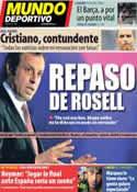 Portada Mundo Deportivo del 14 de Junio de 2013