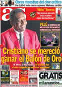 Portada diario AS del 15 de Junio de 2013