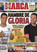 Portada diario Marca del 15 de Junio de 2013