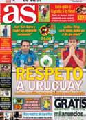 Portada diario AS del 16 de Junio de 2013