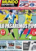 Portada Mundo Deportivo del 16 de Junio de 2013