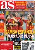 Portada diario AS del 17 de Junio de 2013