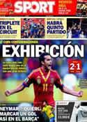 Portada diario Sport del 17 de Junio de 2013