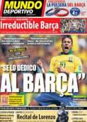 Portada Mundo Deportivo del 17 de Junio de 2013