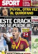 Portada diario Sport del 19 de Junio de 2013