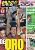 Portada Mundo Deportivo del 19 de Junio de 2013