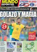 Portada Mundo Deportivo del 20 de Junio de 2013