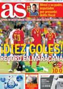 Portada diario AS del 21 de Junio de 2013