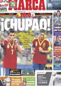 Portada diario Marca del 21 de Junio de 2013