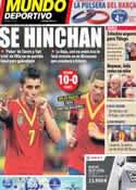Portada Mundo Deportivo del 21 de Junio de 2013