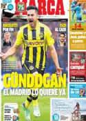 Portada diario Marca del 22 de Junio de 2013