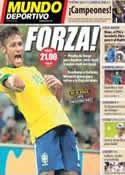 Portada Mundo Deportivo del 22 de Junio de 2013