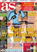 Portada diario AS del 23 de Junio de 2013