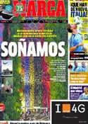 Portada diario Marca del 23 de Junio de 2013