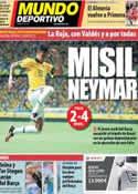 Portada Mundo Deportivo del 23 de Junio de 2013