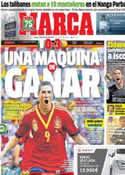 Portada diario Marca del 24 de Junio de 2013