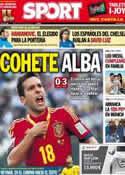 Portada diario Sport del 24 de Junio de 2013