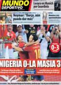 Portada Mundo Deportivo del 24 de Junio de 2013