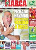 Portada diario Marca del 25 de Junio de 2013