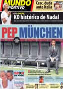 Portada Mundo Deportivo del 25 de Junio de 2013