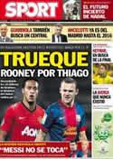 Portada diario Sport del 26 de Junio de 2013